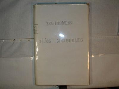 Libro de Bautizos num. 77
