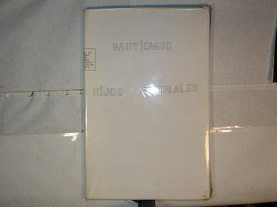 Libro de Bautizos num. 79