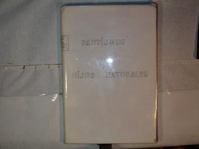 Libro de Bautizos num. 81