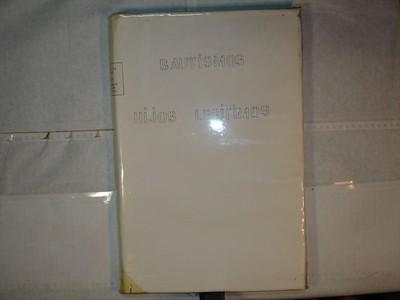 Libro de Bautizos num. 85