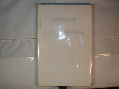 Libro de Bautizos num. 87