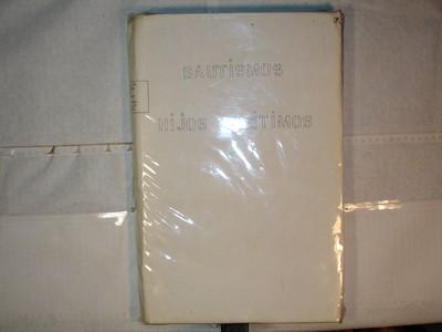 Libro de Bautizos num. 89