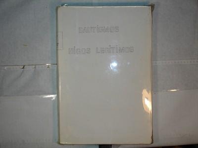 Libro de Bautizos num. 94