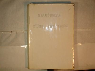 Libro de Bautizos num. 97