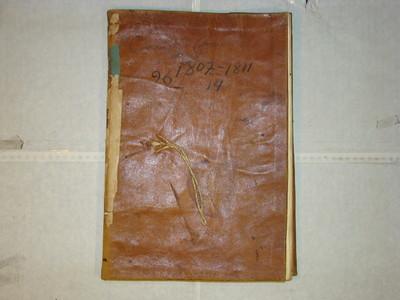 Libro de Entierros num. 17