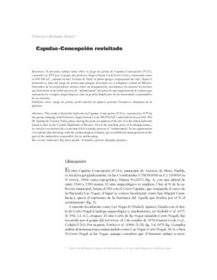 Capulac-Concepción revisitado
