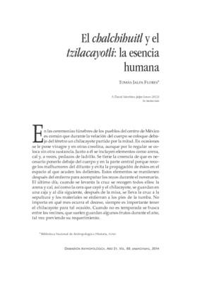 El chalchihuitl y el tzilacayotli: la esencia humana
