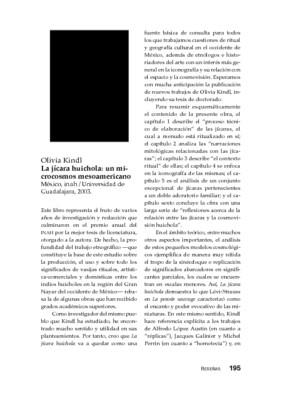 Olivia Kindl, La jícara huichola: un microcosmos mesoamericano, México, INAH/Universidad de Guadalajara, 2003.