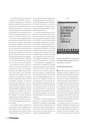 Francisco López Bárcenas, El derecho de los pueblos indígenas de México a la consulta