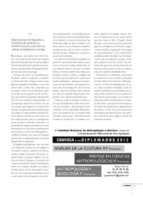 Presentaciones Editoriales de la Coordinación Nacional de Antropología en la XXIII Feria del Libro de Antropología e Historia