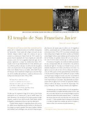 El templo de San Francisco Javier en Tepotzotlán