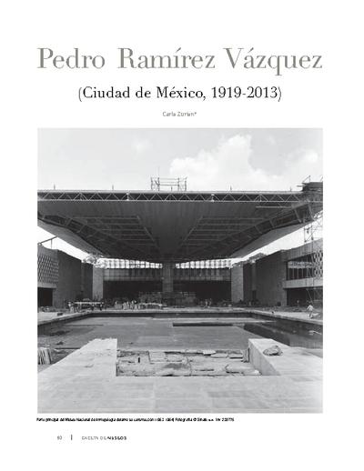 Pedro Ramírez Vázquez (Ciudad de México, 1919-2013)