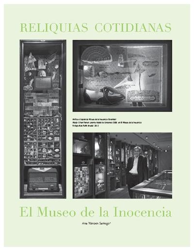 RELIQUIAS COTIDIANAS El Museo de la Inocencia