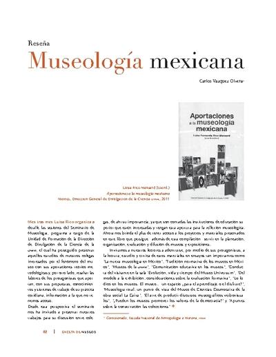 Museología mexicana