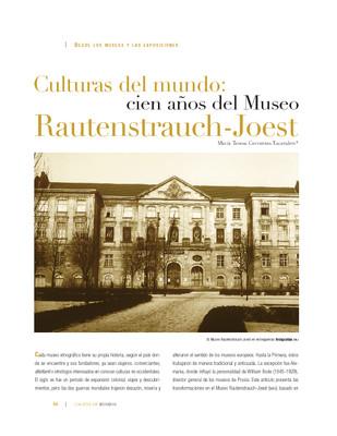 Culturas del mundo: cien años del Museo Rautenstrauch-Joest