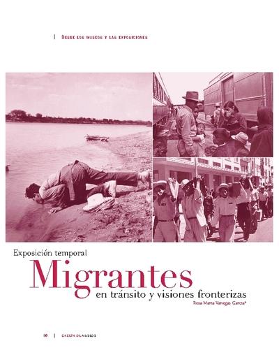 Migrantes en tránsito y visiones fronterizas