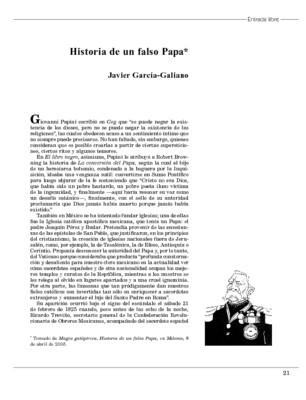 Historia de un falso Papa