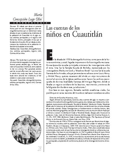Las cuentas de los niños Cuautitlán