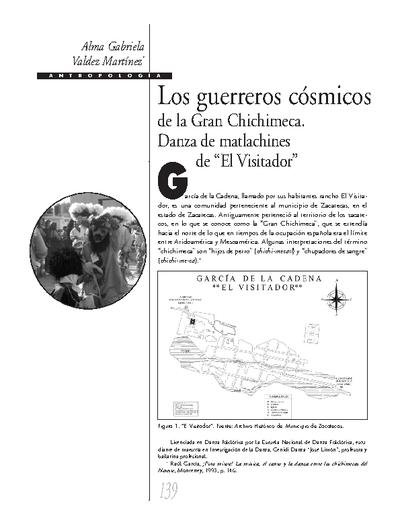 """Los guerreros  cósmicos de la Gran Chichimeca. Danza de matlachines de """" El Visitador"""""""
