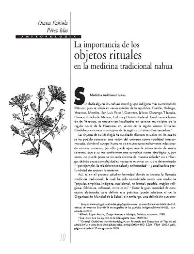 La importancia de los objetos rituales en la medicina tradicional nahua