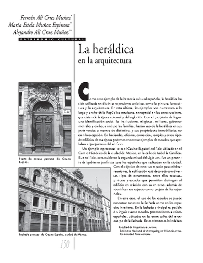 La heráldica en la arquitectura