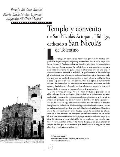 Templo y convento de San Nicolás Actopan, Hidalgo, dedicado a San Nicolás de Tolentino