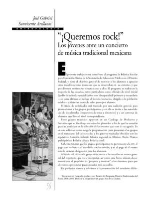 """""""¡Queremos rock!"""" Los jóvenes ante un concierto de música tradicional mexicana"""