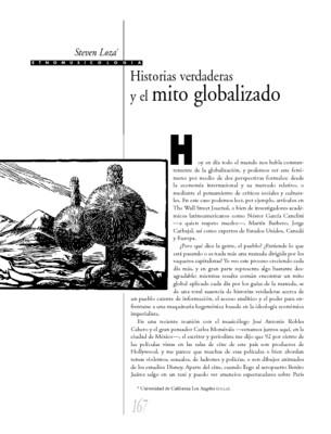 Historias verdaderas y el mito globalizado