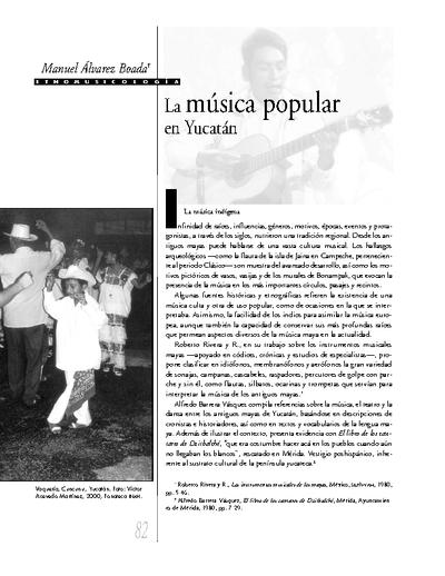 La música popular en Yucatán