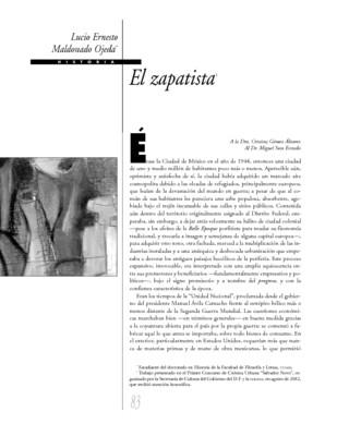 El zapatista