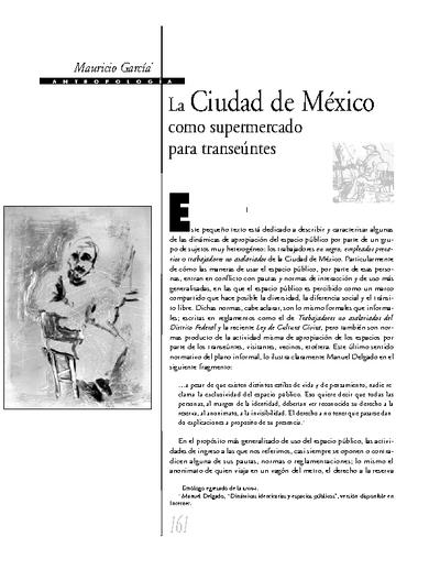 La Ciudad de México como supermercado para transeúntes