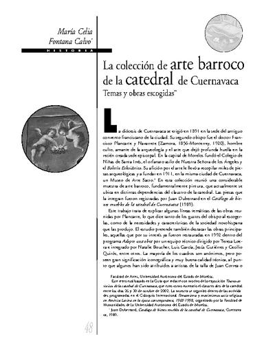 La colección de arte barroco de la catedral de Cuernavaca.