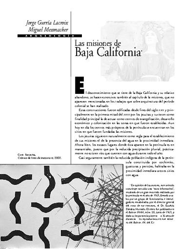 Las misiones de Baja California