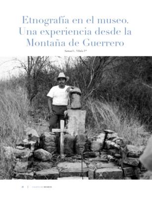 Etnografía en el museo. Una experiencia desde la Montaña de Guerrero