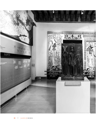 La reestructuración de las salas del Egipto Faraónico y el Mediterráneo Antiguo del Museo Nacional de las Culturas