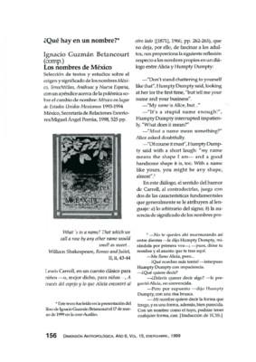Ignacio Guzmán Betacourt (comp.), Los nombres de México, México, Secretaría de Relaciones Exteriores/Miguel Ángel Porrúa, 1998, 525 pp.