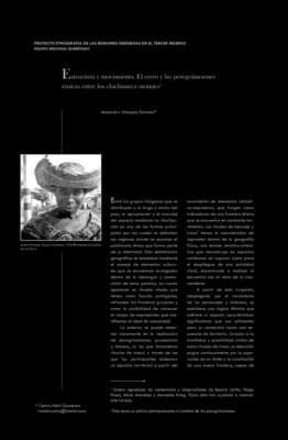 Estructura y movimiento, El Cerro y las peregrinaciones étnicas entre los Chichimecas Otomíes