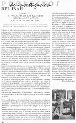 Etnografía de las Regiones Indígenas de México hacia el Nuevo Milenio. Seminario Permanente de Etnología Mexicana: Reseña de las sesiones del 9 y del 23 de julio de 1999