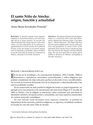 El santo Niño de Atocha: origen, función y actualidad