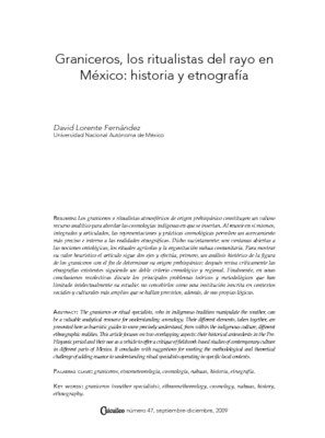Graniceros, los ritualistas del rayo en México: historia y etnografía