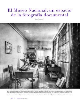 El Museo Nacional, un espacio de la fotografía documental