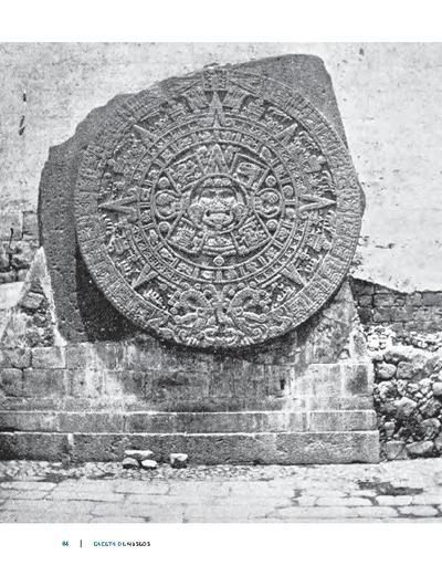 Recordando al Calendario Azteca, Piedra del Sol o Piedra del Agua