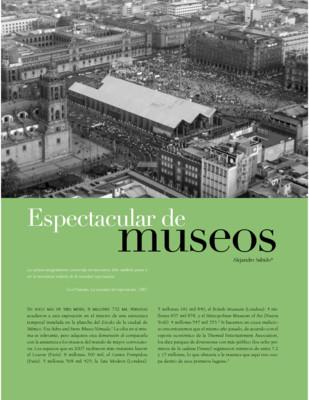 Espectacular de museos
