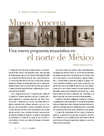 Museo Arocena. Una nueva propuesta museística en el norte de México