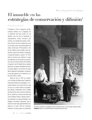 El inmueble en las estrategias de conservación y difusión