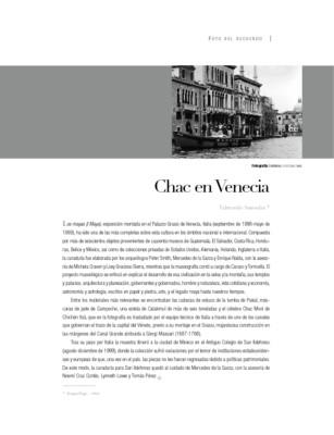 Chac en Venecia
