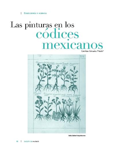 Las pinturas en los códices mexicanos