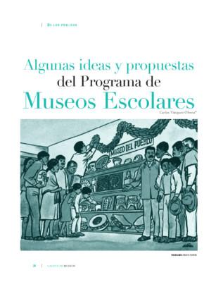 Algunas ideas y propuestas del Programa de Museos Escolares