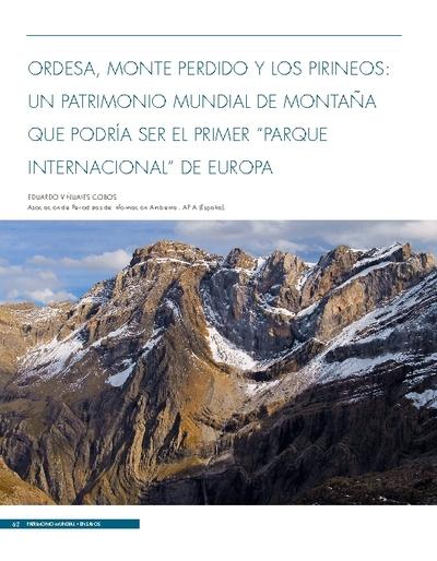 """Ordesa, Monte Perdido y Los Pirineos: un Patrimonio Mundial de montaña que podría ser el primer """"Parque Internacional"""" de Europa"""