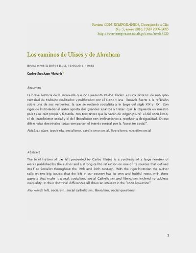 Los caminos de Ulises y de Abraham
